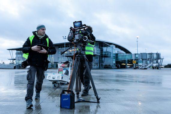 Drehort Flughafen Rostock-Laage